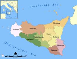 Sicily Wine Tour - Provinces of Sicily