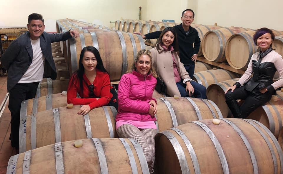 malaysian wine tour in abruzzo