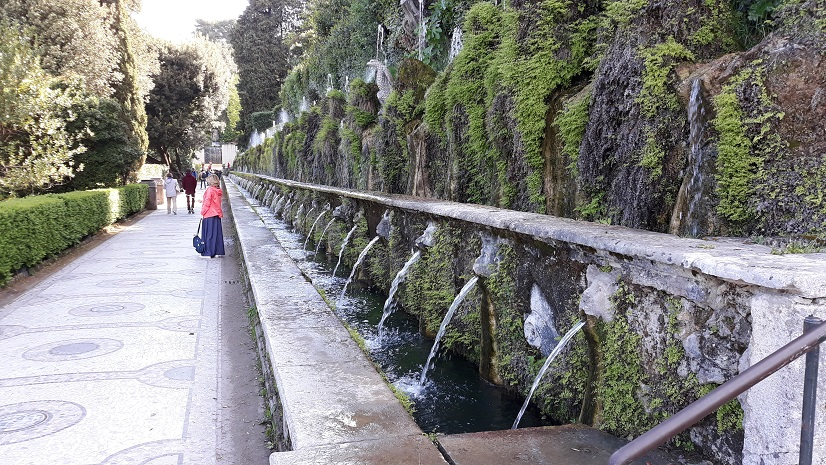 villa d'este fountains 2